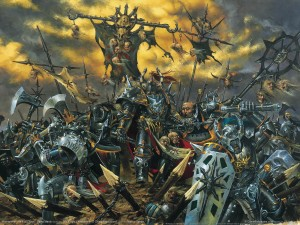 Warhammer Quest Chaos Artwork