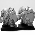 ForgeWorld Chaos Dwarf Infernal Guard - Chaos Dwarf Warriors Proxies