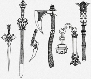 Warhammer Quest Weapons and Equipment