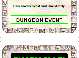 Additional Warhammer Quest Dungeon Event Cards